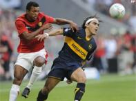Manchester United beat Boca Juniors in Germany