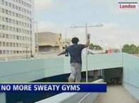 Watch: Tired of gyms? try free running
