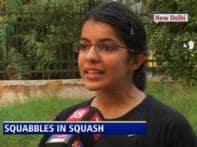 Indian squash players make a beeline for rebel tourney