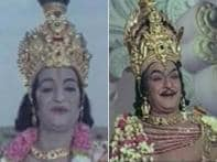 Southern sync: NTR, MGR heroes to poilitical stars