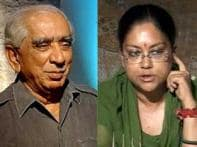 BJP chaos: Jaswant refuses to resign, Raje delays it