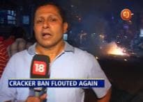 CJ: Delhi flouts SC's ban on firecrackers