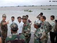 Armed forces rescue hundreds in flood-hit states