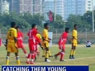 Watch: National football team eyes young talents