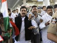 Anti-Telangana MP missing from hospital after arrest