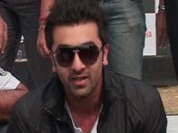 Ranbir talks about bikes, promotes his next flick