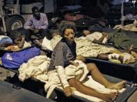 Haiti in ruins, gang of robbers prey on survivors