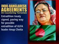 India, Bangladesh sign deal to fight terror