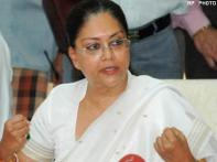 Raje quits as Leader of Opp in Rajasthan Assembly