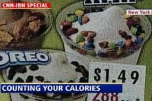 Count calories while eating junk food