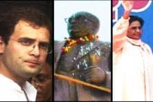Maya, Rahul woo dalits on Ambedkar's B'day