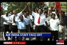 Air India grounded, strike enters second day