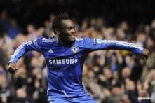 Essien ruled out of WC with knee injury