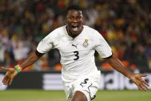 Late penalty gives Ghana win over Serbia
