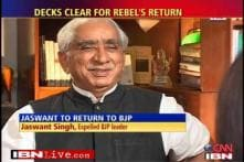 Jaswant Singh back in BJP after nine months