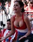 In pics: Larissa, the sexiest football fan