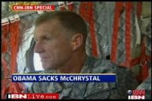 US top commander in Afghanistan shown the door