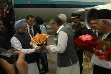 Manmohan Singh on two-day visit to J-K