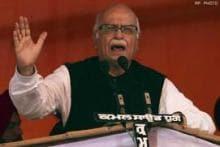 Advani urges Hegde to withdraw resgination