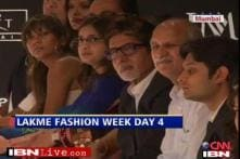 Day 4: Big B, Jaya attend Lakme Fashion Week