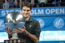 Federer equals Sampras' 64 career titles