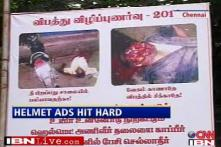Chennai cops use gory ads to promote helmet use