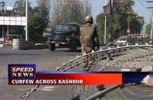 Curfew imposed across Kashmir Valley