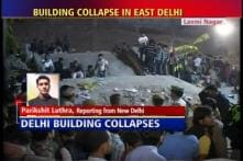 Residents real heroes in Delhi building collapse
