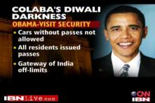 Obama security dampens Diwali spirit in Mumbai