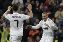Benzema, Ronaldo hat-tricks in Real win