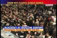 Rain, powercuts hit Moscow airport