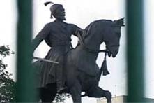 Shivaji's guru statue demolished, Sena protests