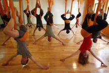 Have you tried the anti-gravity yoga yet?