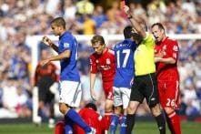 Liverpool beat 10-man Everton 2-0 in 216th derby