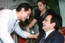 Bollywood biggies at Dilip Kumar's birthday bash
