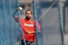 Yusuf begins knee rehabilitation