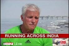 52-year-old athlete running miles for smiles
