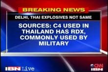 Different explosives used in India, Thailand