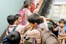 Mumbai: kids forced to climb 100 stairs daily