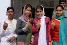 UP: Voting generally peaceful, turnout 56 pc