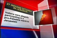 37 Indian activists detained in Lebanon