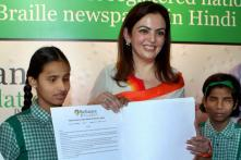 Reliance launches Braille newspaper with Real Hero