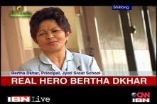 Real Hero Bertha helps the visually impaired