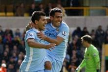 City relegate Wolves, throw EPL title race open