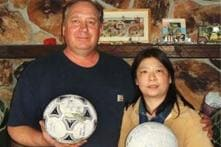 Soccer ball lost in tsunami, found after a year