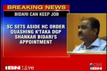 SC sets aside HC order against Karnataka DGP Bidari