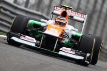 Force India to start in eighth row in Chinese GP