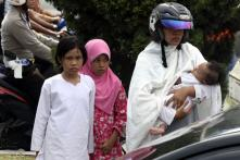 In pics: 2 earthquakes rattle Indonesia