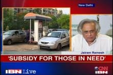 Fuel subsidies to the affluent need to end: Jairam