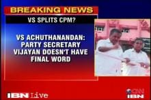 Split within Kerala CPM out in the open